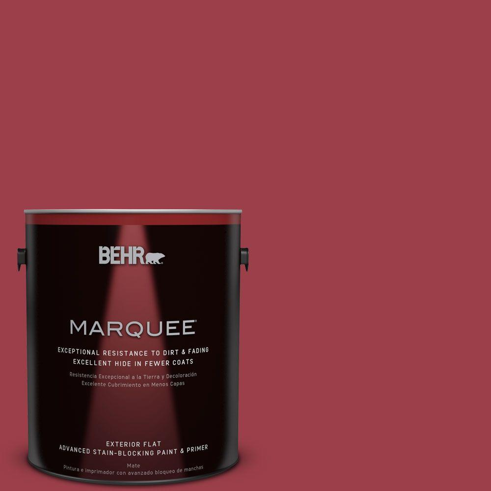 Home Decorators Collection 1-gal. #HDC-CL-01 Timeless Ruby Flat Exterior Paint