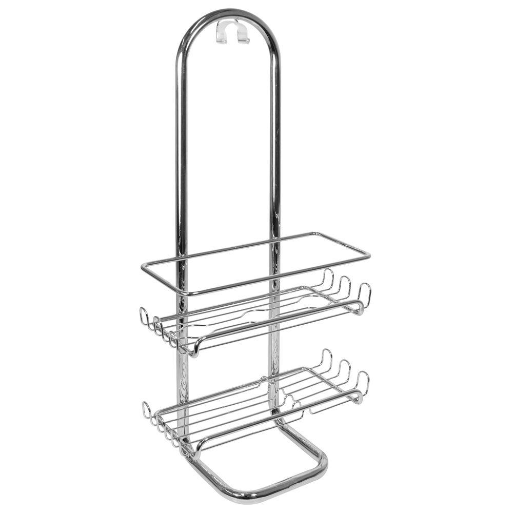 null Classico Shower Caddy in Chrome