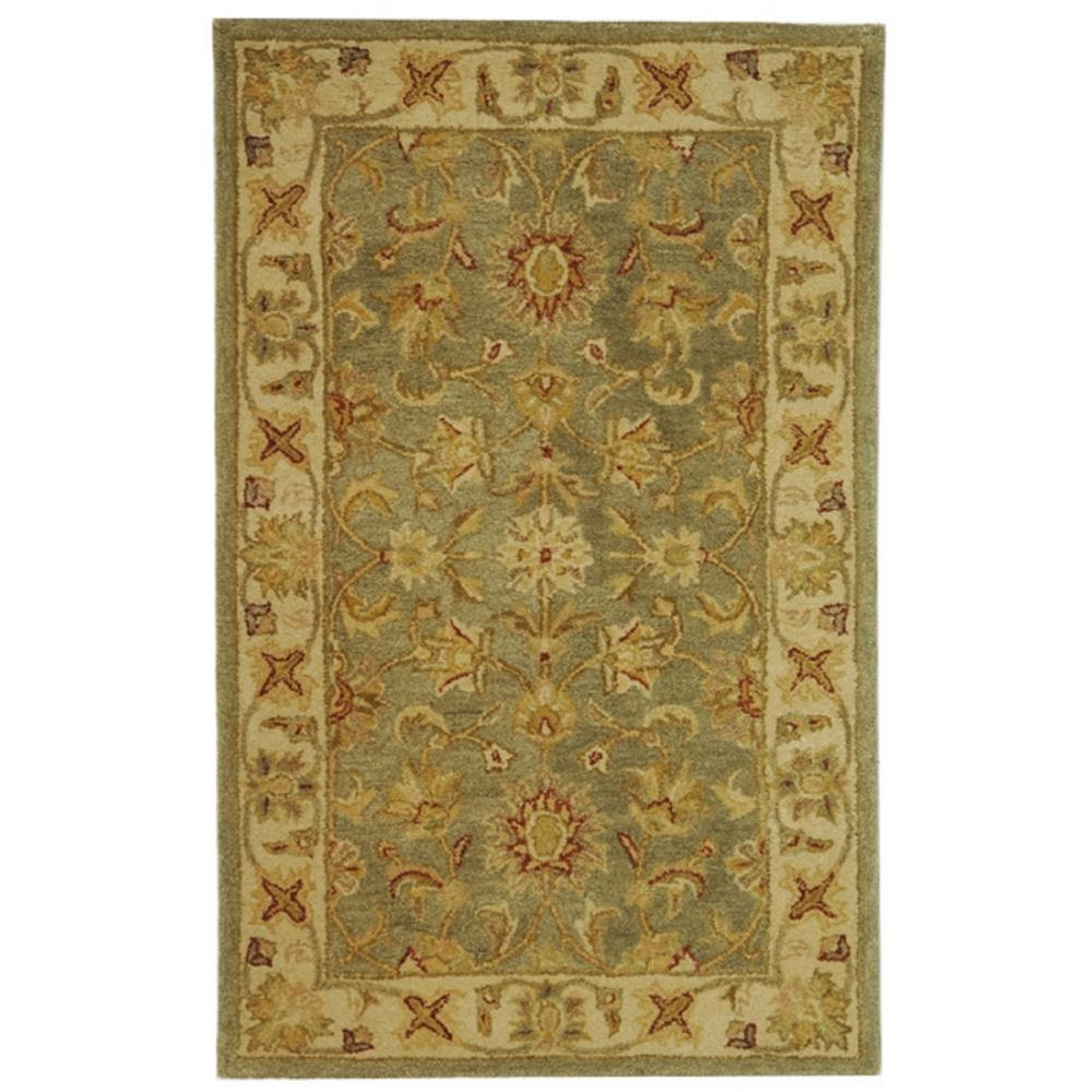 Antiquity Green/Gold 2 ft. x 3 ft. Area Rug