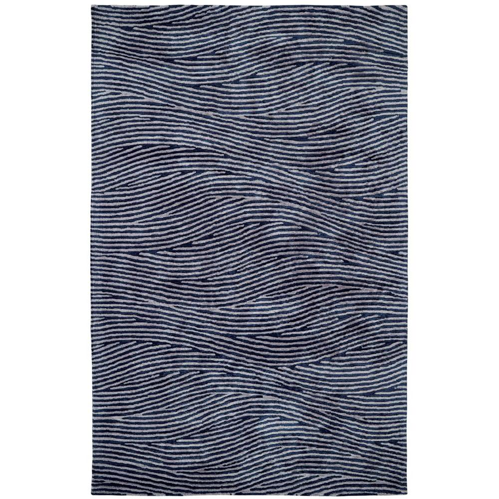 Dynamic Rugs Celeste Silver/Blue 2 ft. x 4 ft. Indoor Area Rug