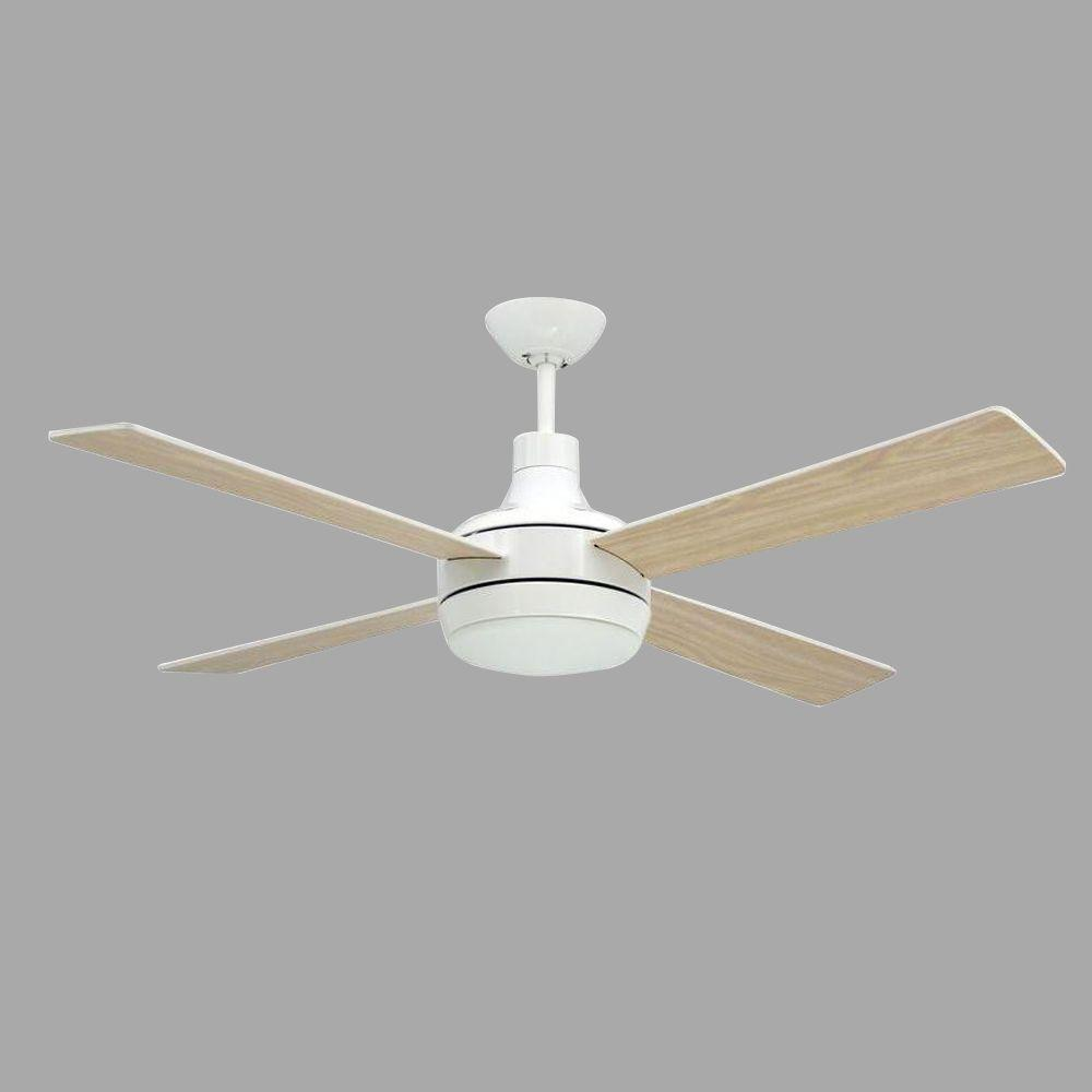 TroposAir Quantum 52 in. Pure White Ceiling Fan-88401 - The Home