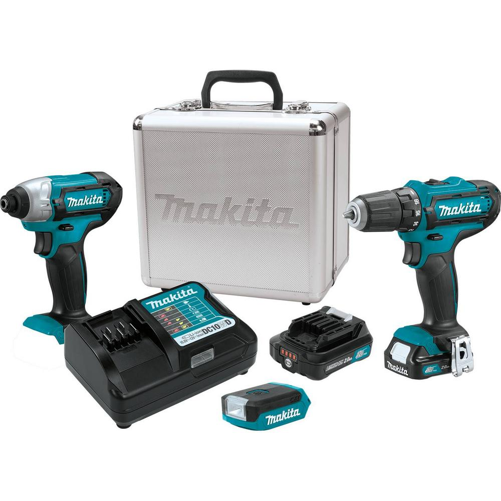 12-Volt max CXT Lithium-Ion Cordless Combo Kit (3-Piece) (Driver-Drill/Impact