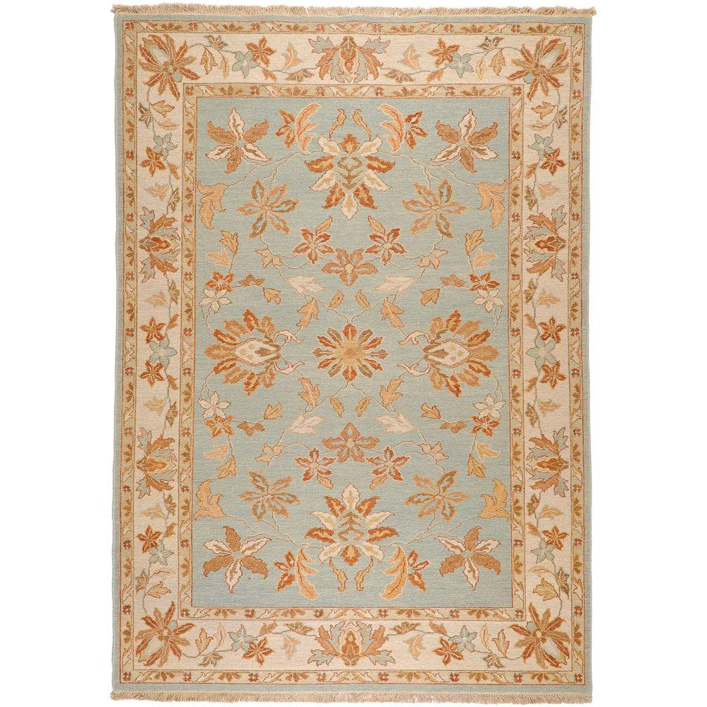 Artistic Weavers Enzo Pale Blue 4 ft. x 6 ft. Area Rug