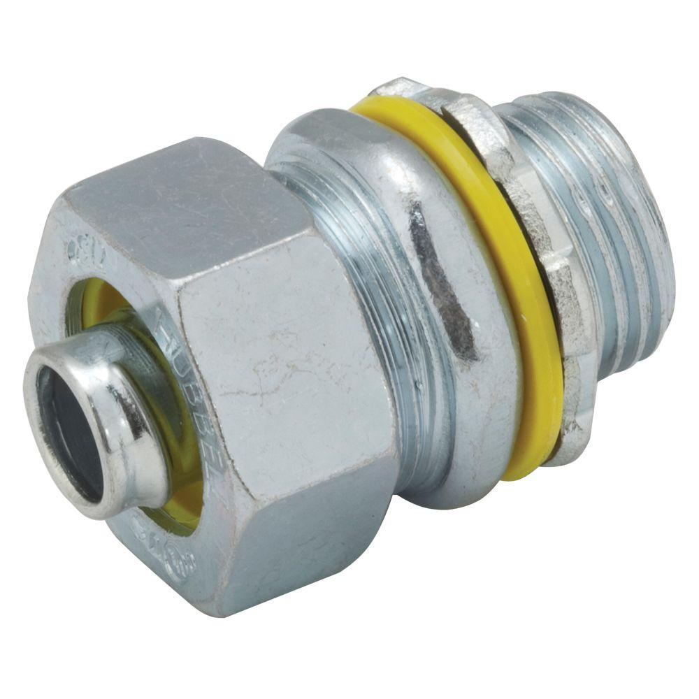 Liquidtight 1/2 in. Uninsulated Connector (50-Pack)