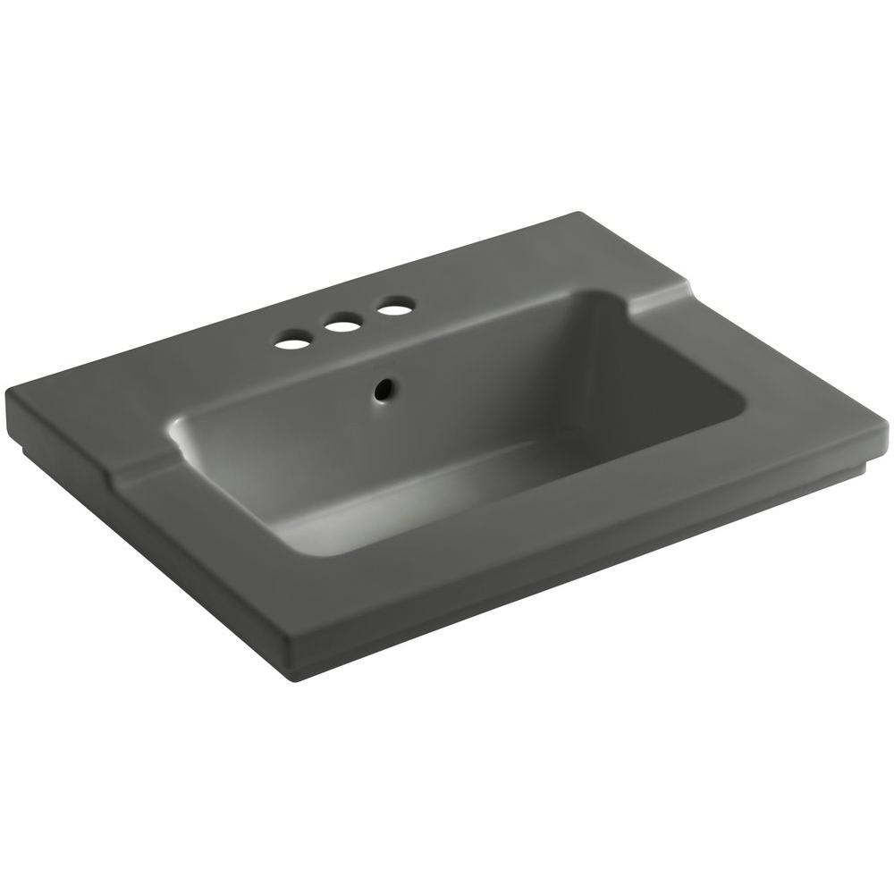 Tresham 25-7/16 in. Vitreous China Single Vanity Top with Basin in