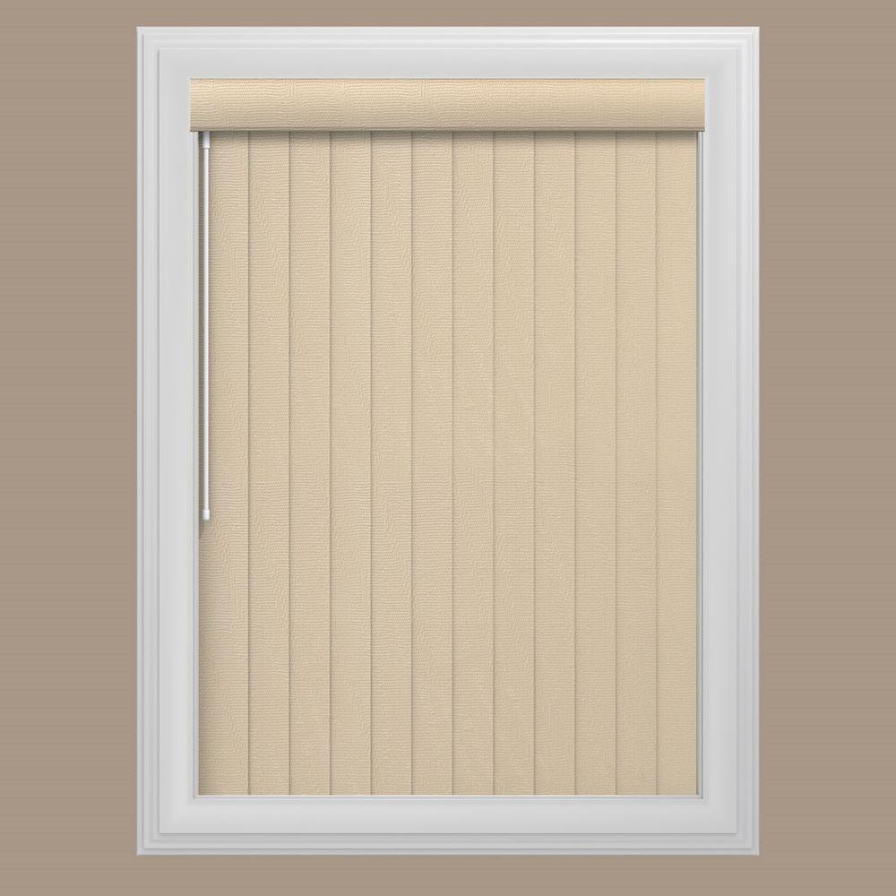 Bali Cut-to-Size Blinds & Shades Maui Tan 3.5 in. PVC Louver Set - 62.5 in. L (9-Pack) 68-3173-31-3.5-62.5