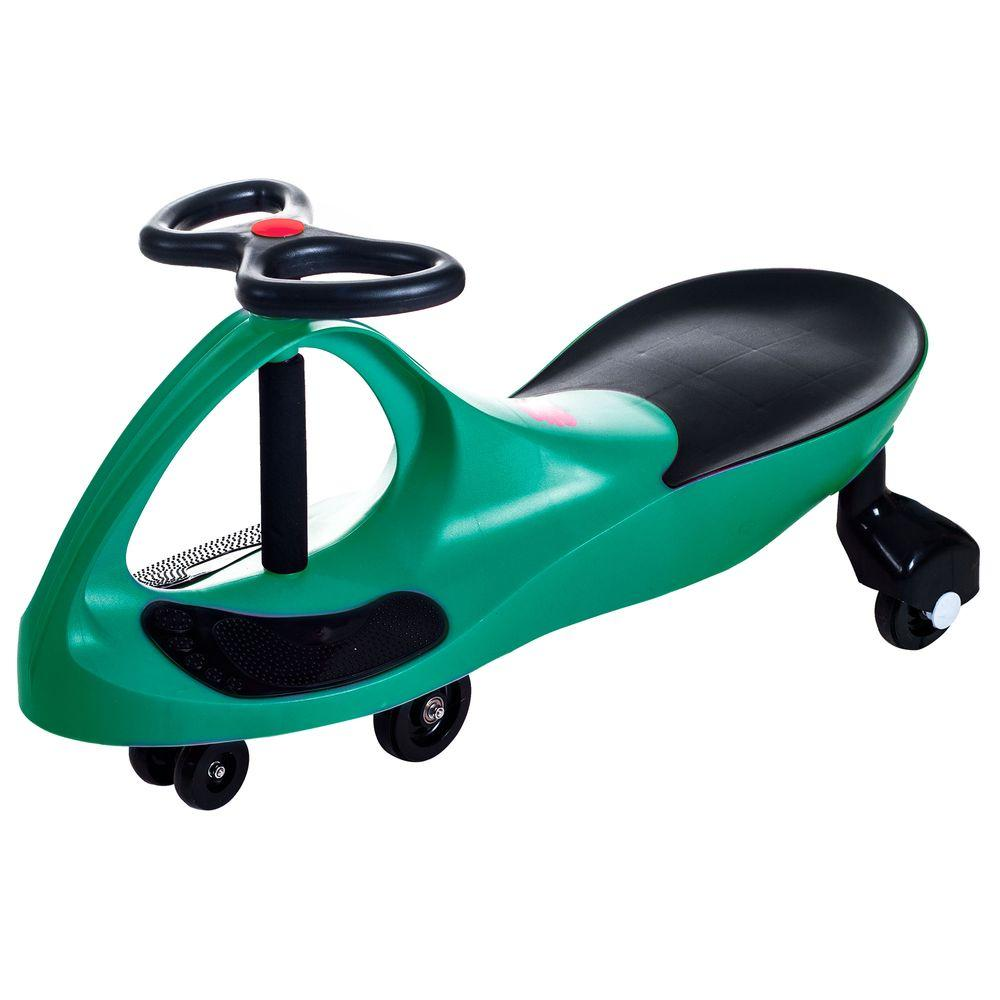 Lil Rider Green Wiggle Car Ride On-80-1299GR - The Home Depot