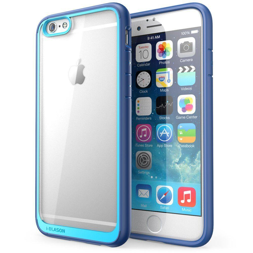Halo Series 4.7 in. Case for Apple iPhone 6/6S, Clear Navy, Clear/Blue