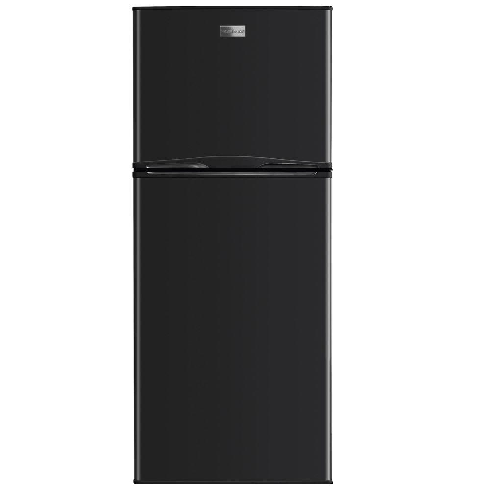 Energy Star Kitchen Appliances Frigidaire 10 Cu Ft Top Freezer Refrigerator In Black Energy