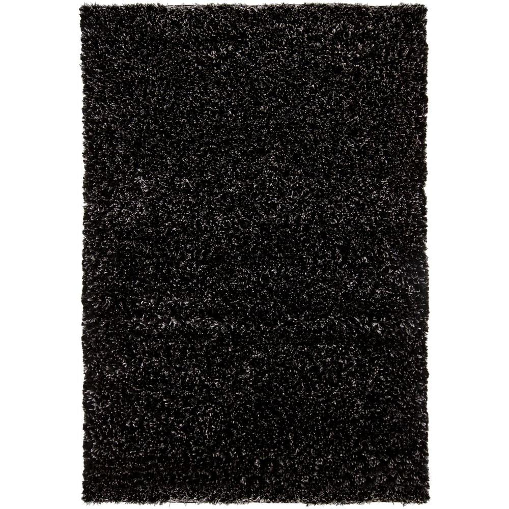 Dior Black/White 9 ft. x 13 ft. Indoor Area Rug