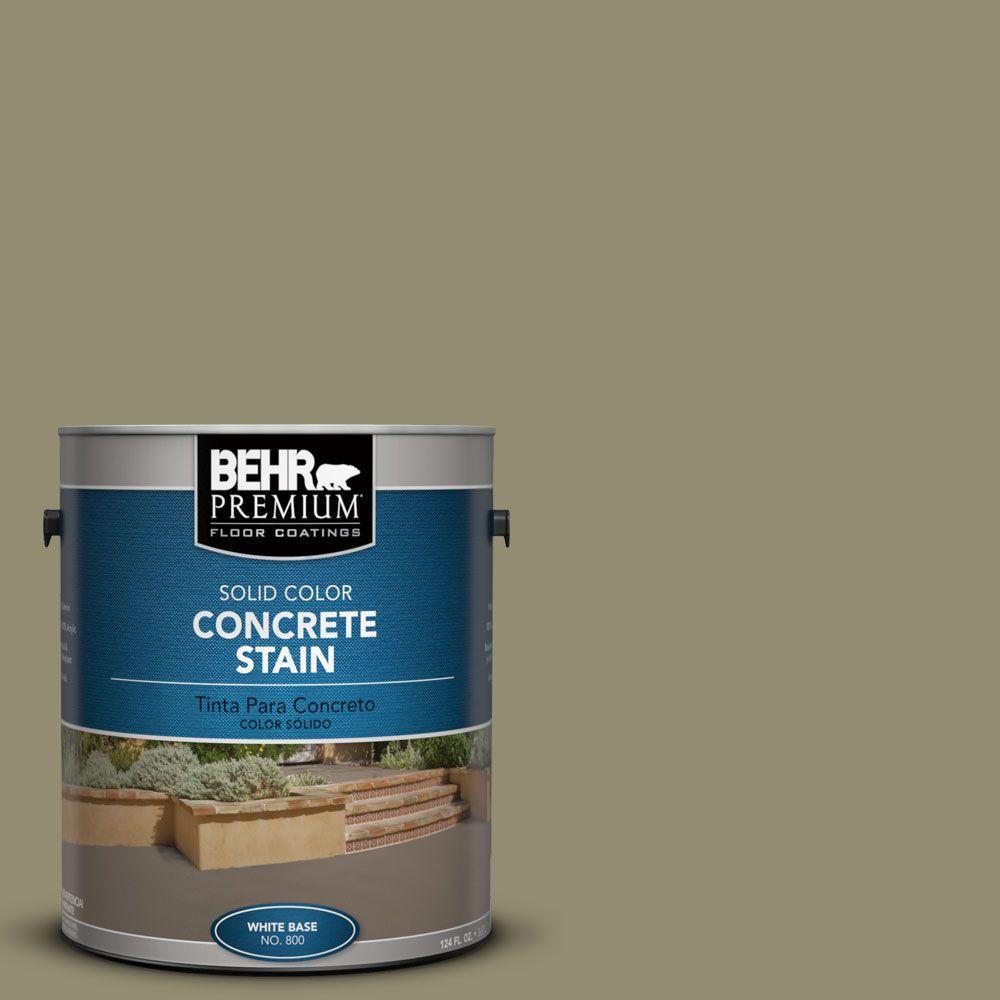 1 gal. #PFC-34 Woven Willow Solid Color Concrete Stain