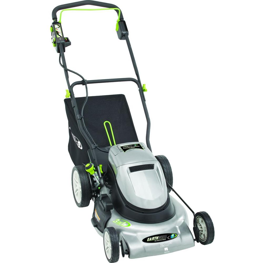20 in. Rechargeable Cordless Electric Lawn Mower