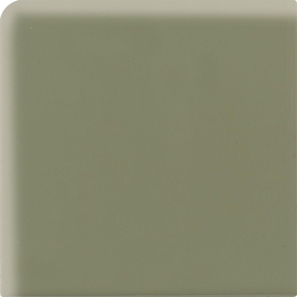 Daltile Semi-Gloss Garden Spot 2 in. x 2 in. Ceramic Bullnose Corner Wall Tile-DISCONTINUED