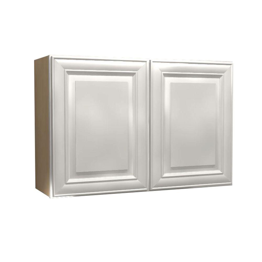 36x24x12 in. Brookfield Assembled Wall Cabinet with 2 Doors in Pacific
