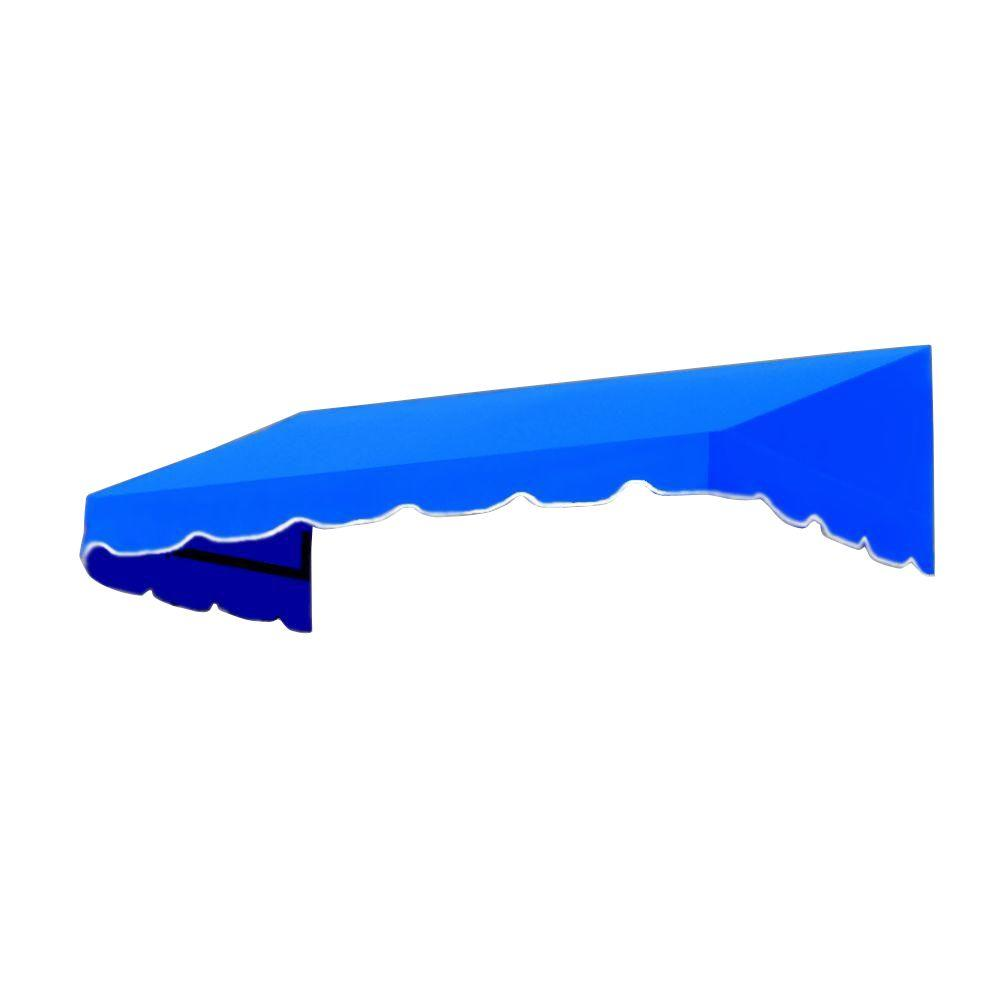 AWNTECH 3 ft. San Francisco Window/Entry Awning (18 in. H x 36 in. D) in Bright Blue