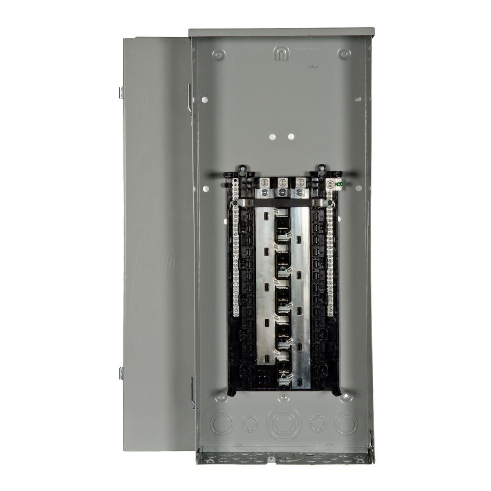 ES Series 200 Amp 30-Space 54-Circuit Main Lug Outdoor 3-Phase Load
