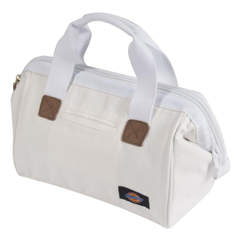 12 in. Work/Tool Bag, White