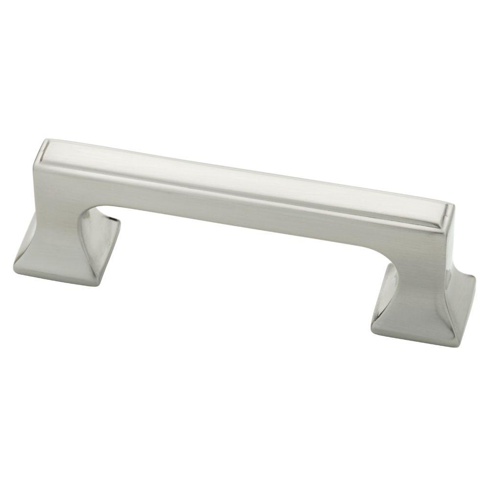 Southampton 3 in. (76mm) Satin Nickel Cabinet Pull