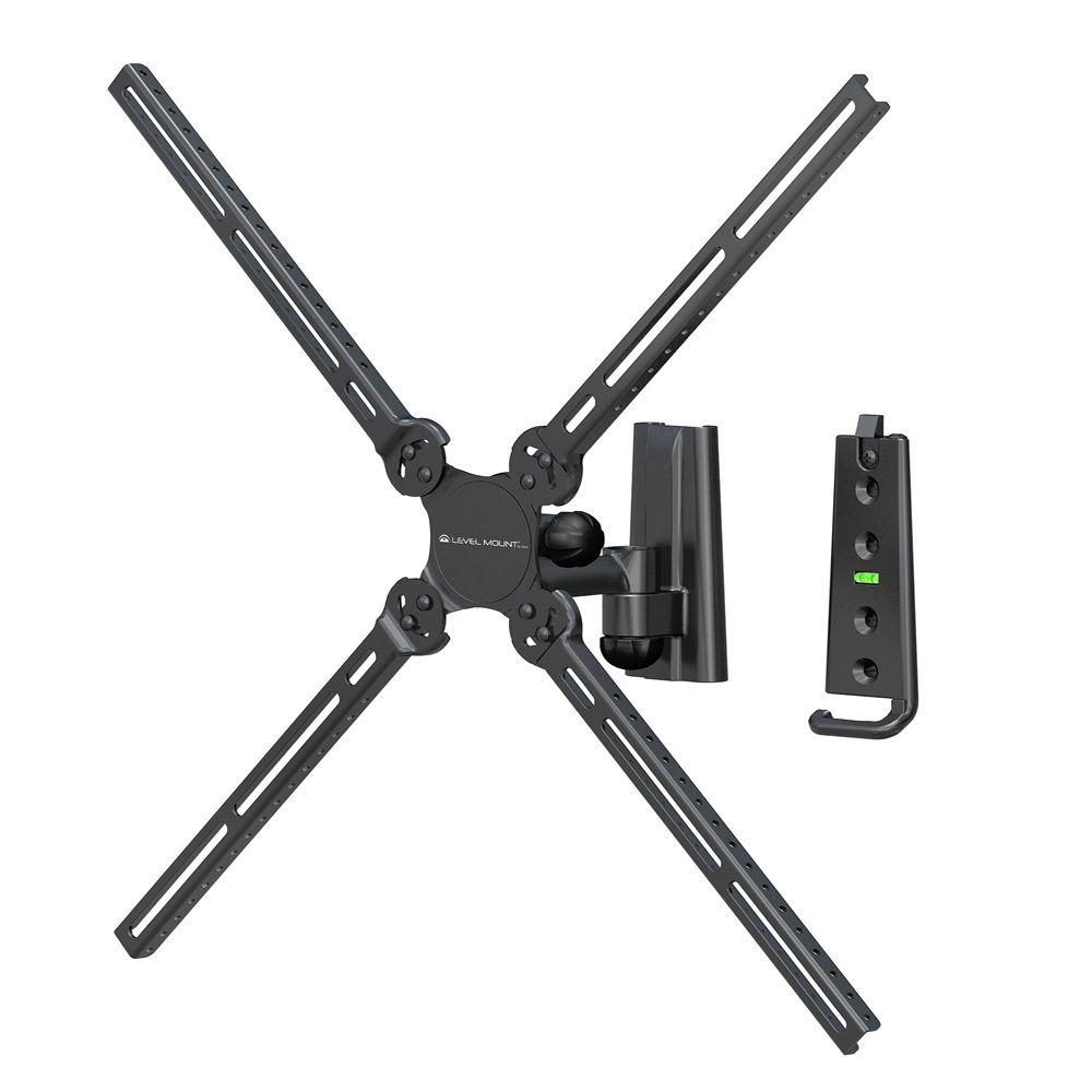 Level Mount Full Motion Single Arm Mount for 10 in. - 47 in. Flat Panel TVs
