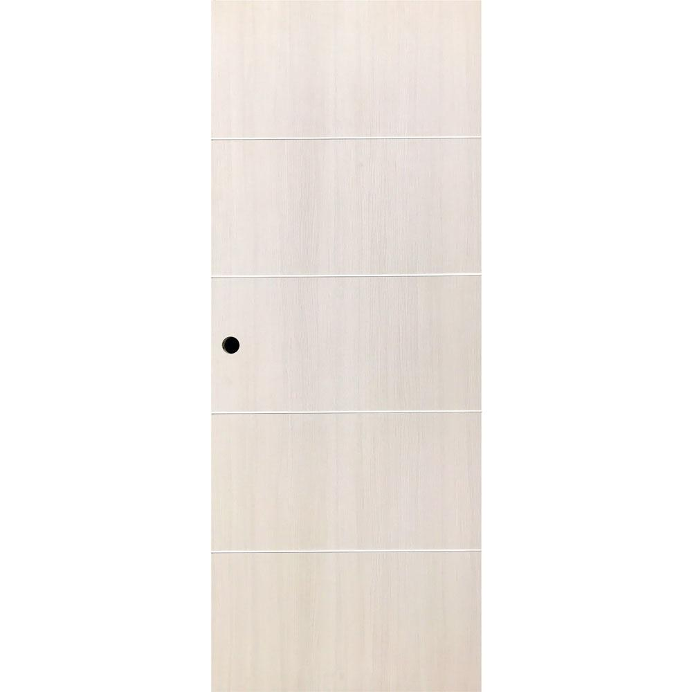 Vint Nyc 30 In X 80 In Bleached White Oak Finish Wood
