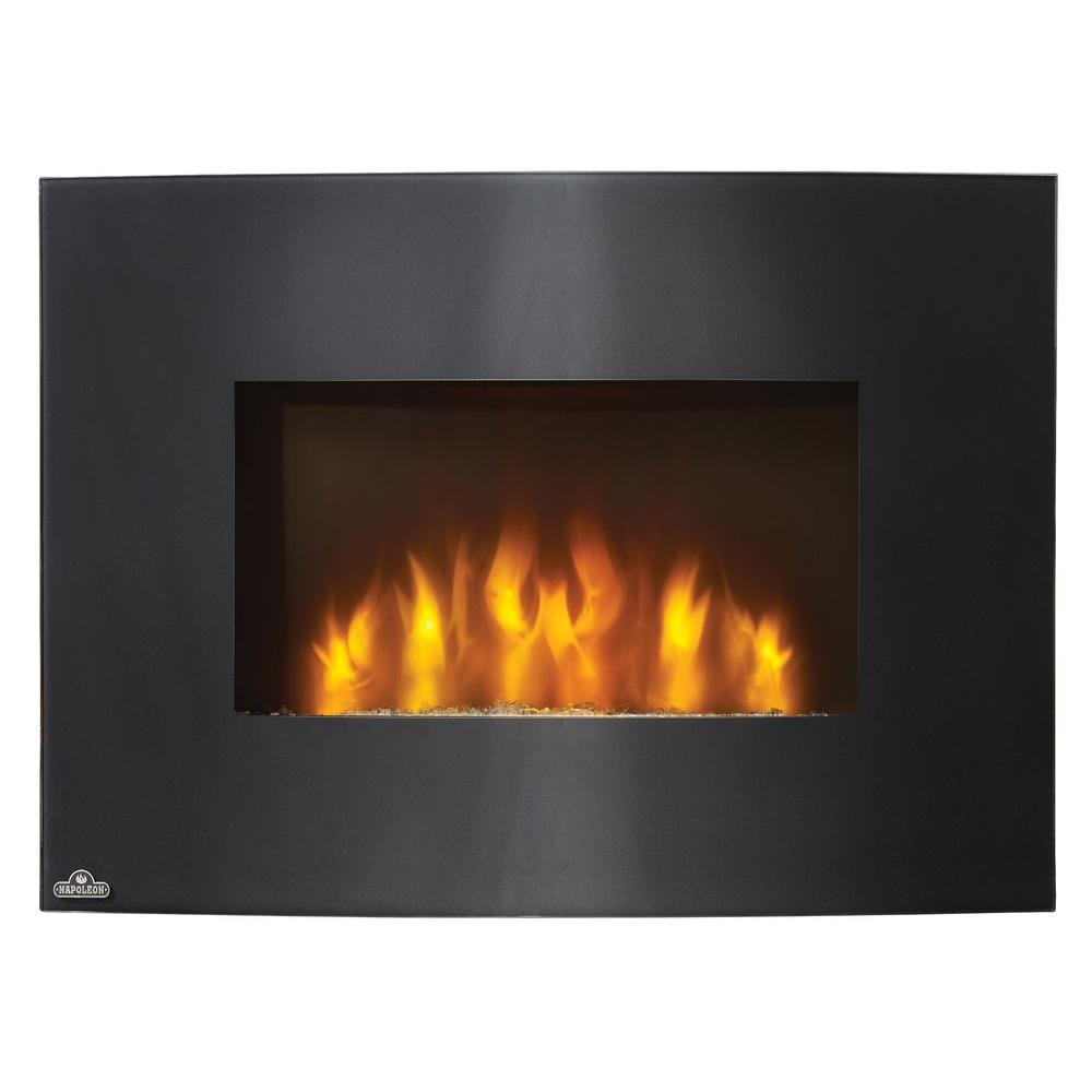 NAPOLEON Convex 32 in. Wall-Mount Electric Fireplace in Black