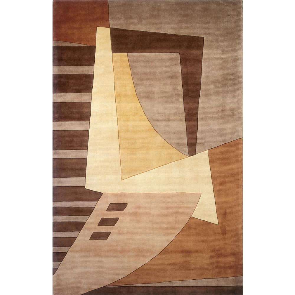 Contempo Light Brown 2 ft. x 3 ft. Indoor Area Rug