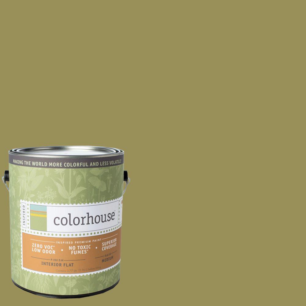 Colorhouse 1-gal. Leaf .05 Flat Interior Paint-461451 - The Home Depot