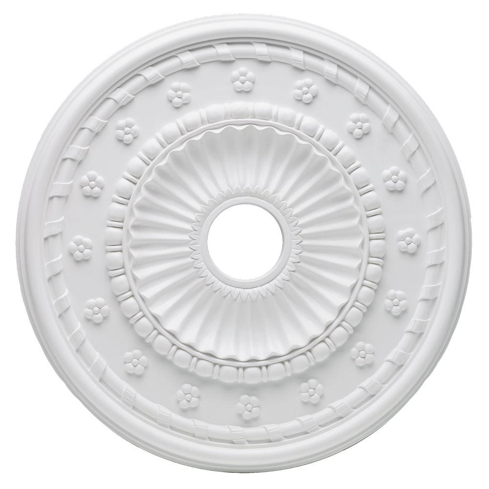 Westinghouse Aureole 24 in. White Ceiling Medallion-DISCONTINUED