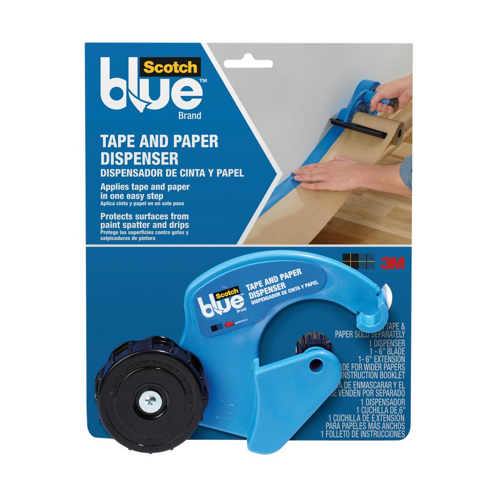 Tape and Paper Dispenser (Case of 4)