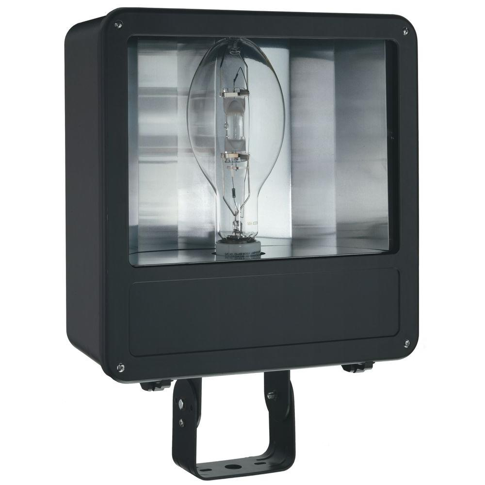 Lithonia Lighting Outdoor 400-Watt Metal Halide Flood Light - Bronze-F400ML SCWA