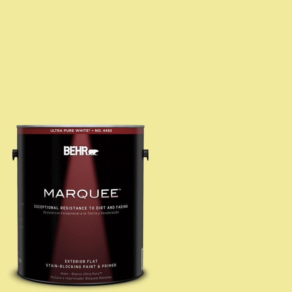 BEHR MARQUEE 1-gal. #400A-3 Pear Flat Exterior Paint-445401 - The Home