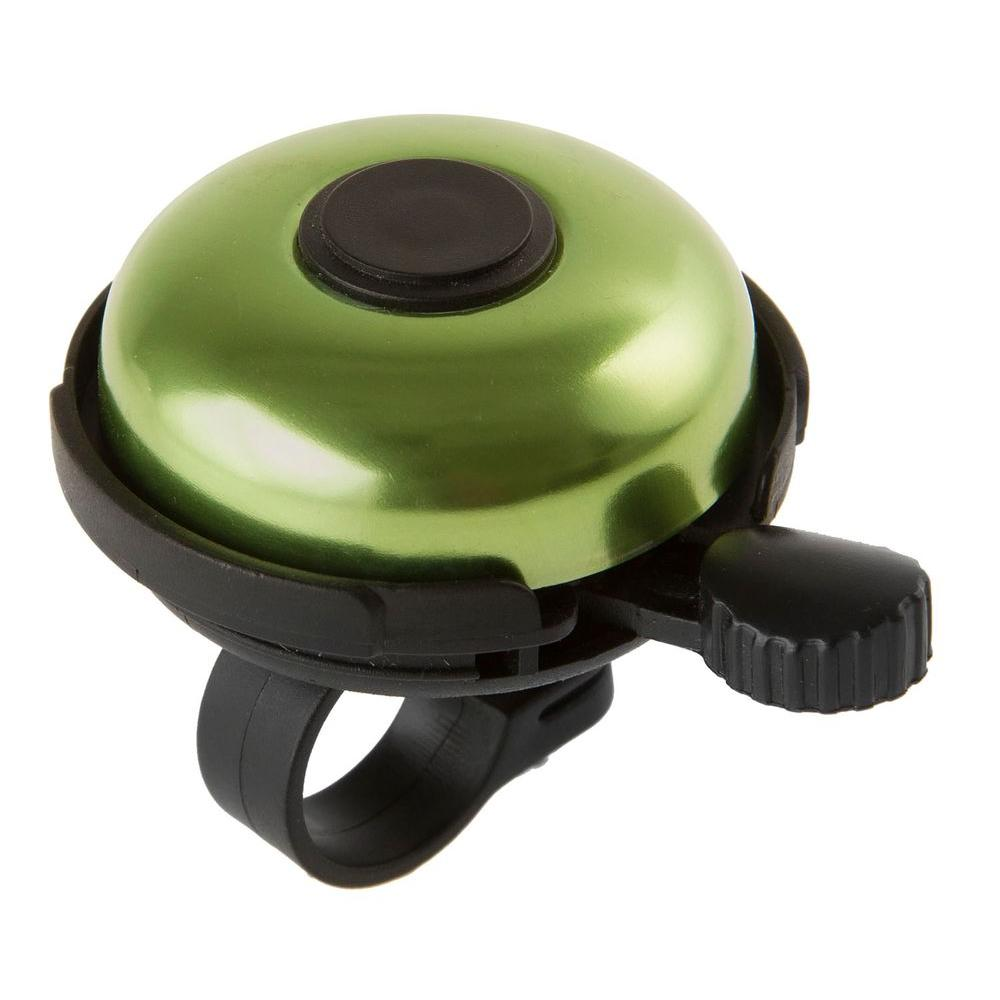 M-Wave Alloy Rotary Action Bell in Green-420155 - The Home Depot