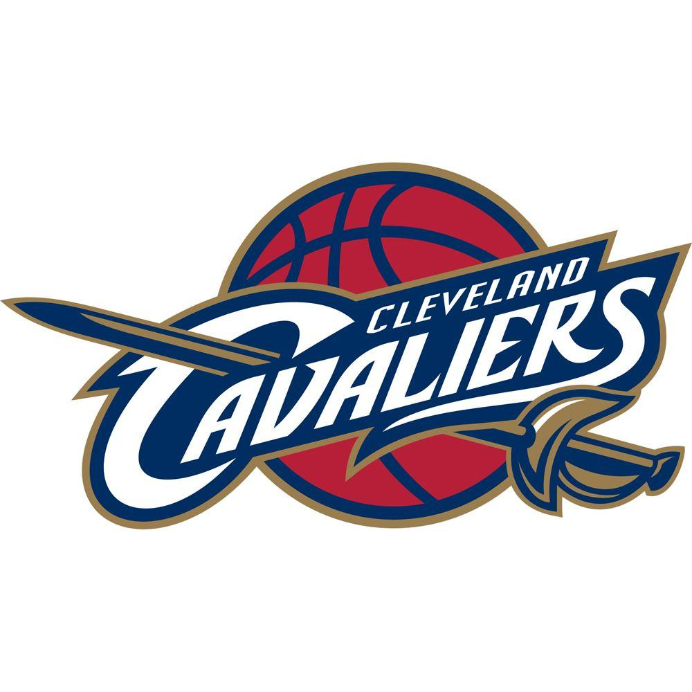 Fathead 52 in. x 28 in. Cleveland Cavaliers Logo Wall Decal