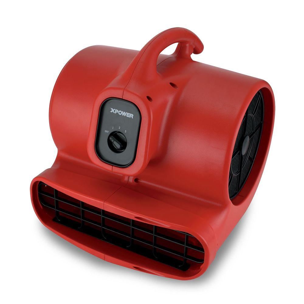 XPOWER X-600 1/3 HP High Velocity Air Mover