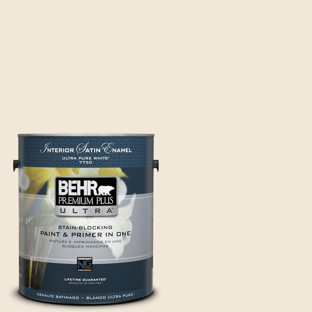 Home Decorators Collection 1-gal. #HDC-NT-03 Chenille Spread Satin Enamel