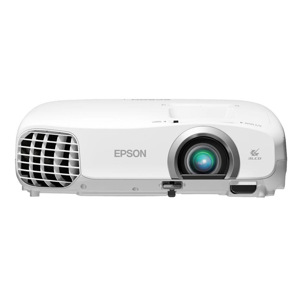 Epson Home Cinema 1920 x 1080 2030 2D/3D 1080p 3 LCD Projector with 2000 Lumens