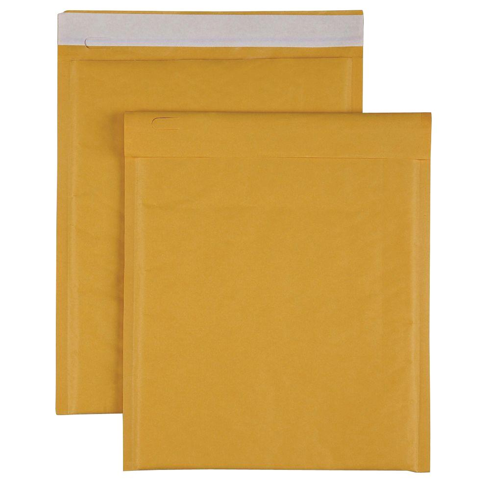 Bubble Cushioned Mailers Size 2 Envelope, Kraft (100-Carton)