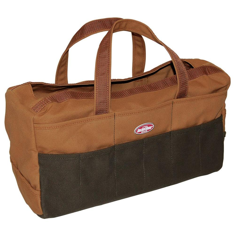Bucket Boss 17 in. Rigger´s Bag, Brown And Green