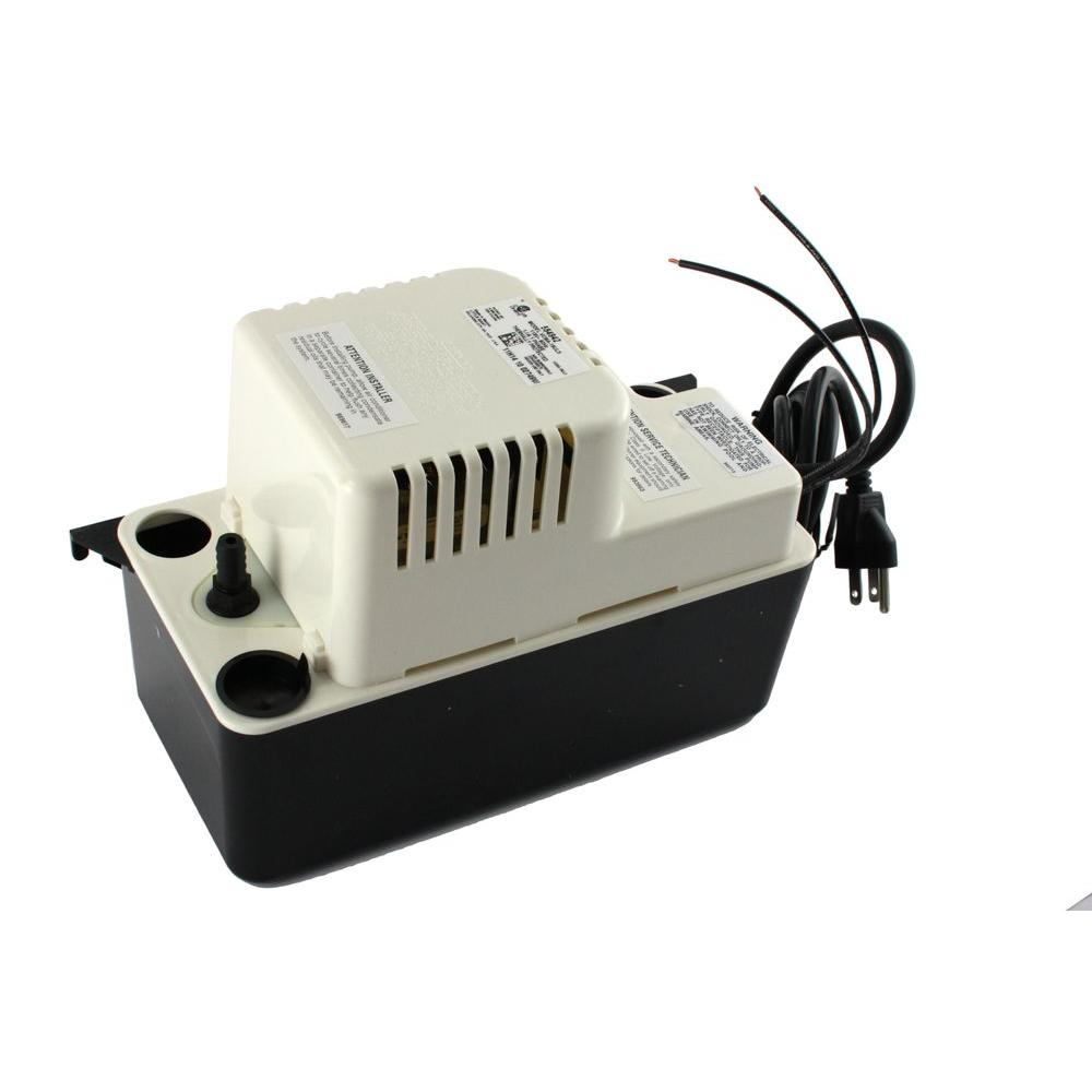 Franklin Electric 115-Volt 15 ft. Shutoff Condensate Pump-VCMA-15ULS - The Home
