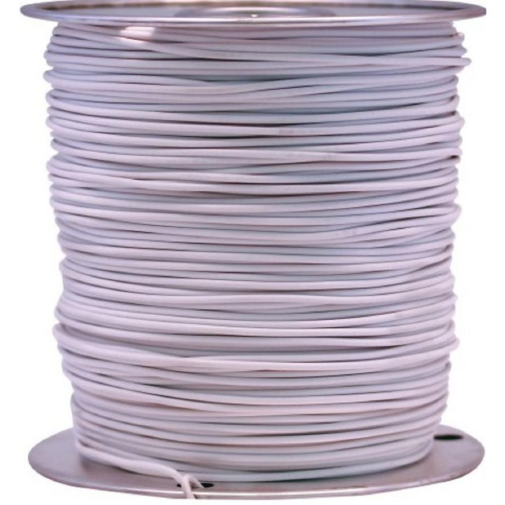 1000 ft. 14 White Stranded CU GPT Primary Auto Wire
