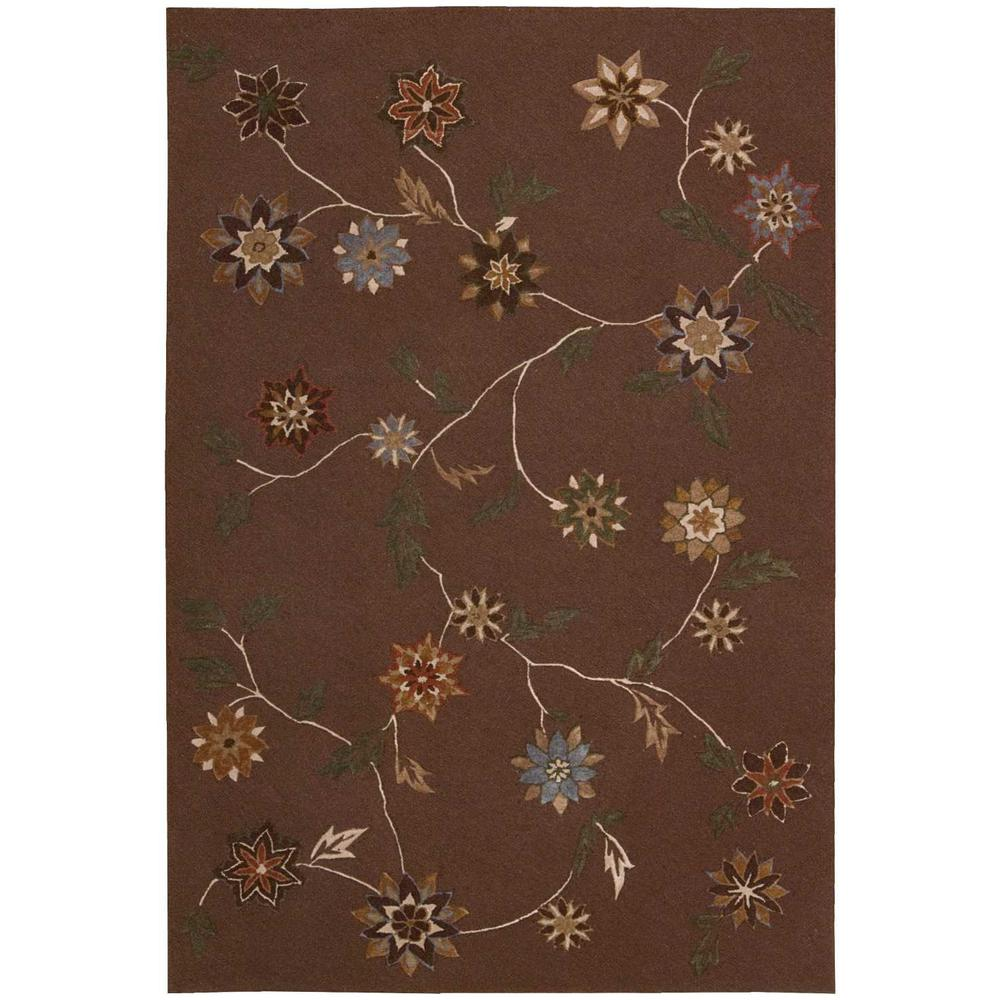 Contour Brown 7 ft. 3 in. x 9 ft. 3 in.