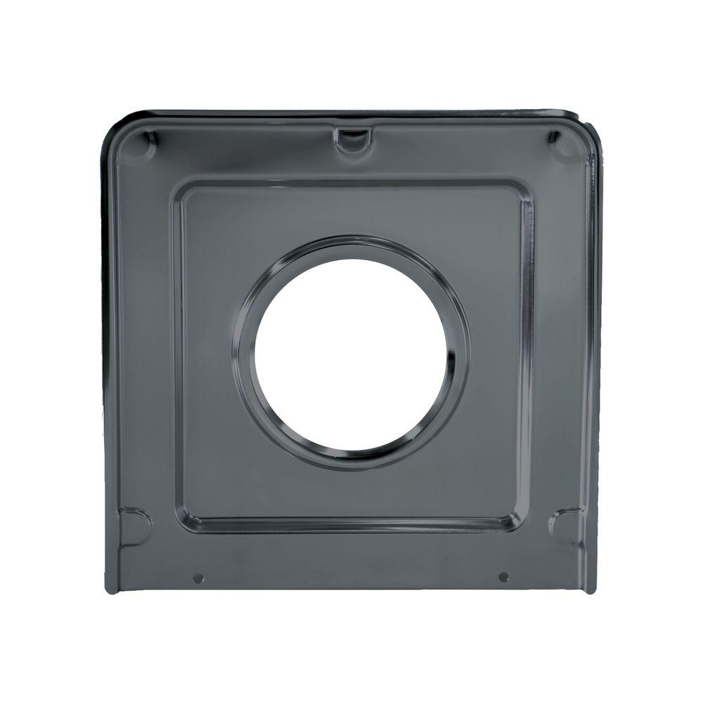 Range Kleen 9.125x9.3125 in. Drip Pan in Porcelain/Black-P401 - The Home