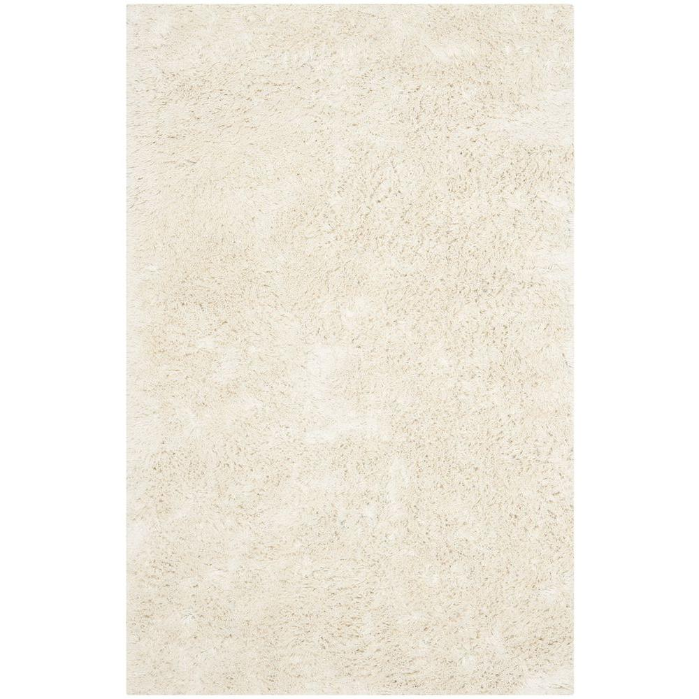 Safavieh Classic Shag Ultra Ivory 2 ft. 6 in. x 4 ft. Area Rug