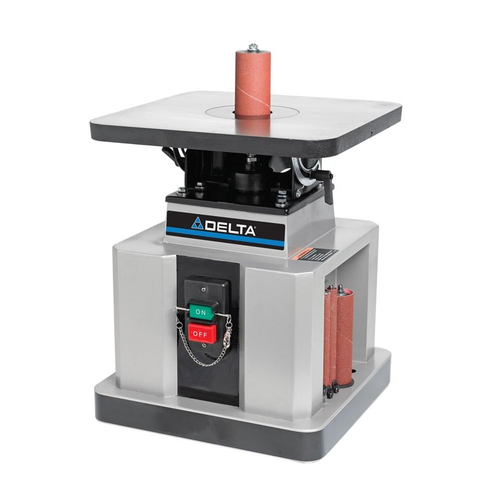 Delta 1/2 HP Heavy Duty Bench Oscillating Spindle Sander with Tilt