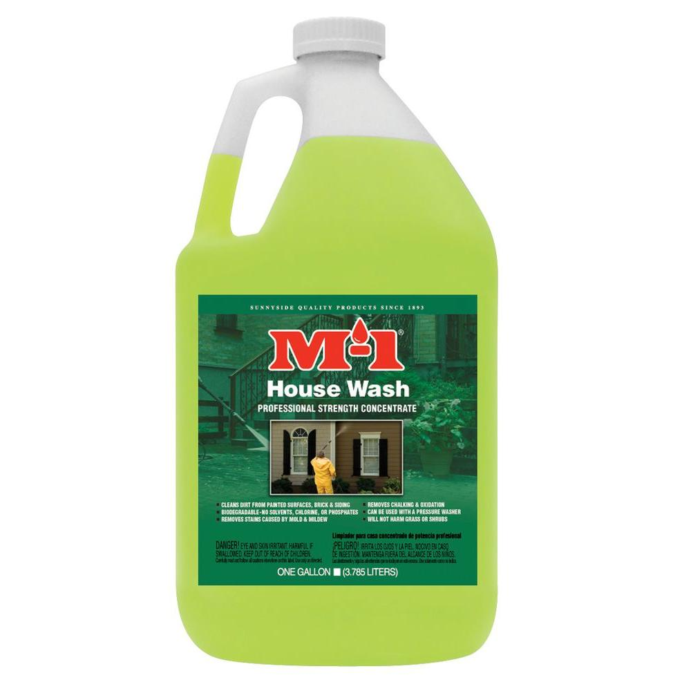 M-1 1 gal. House Wash, All-Purpose Cleaner-HW1G - The Home Depot