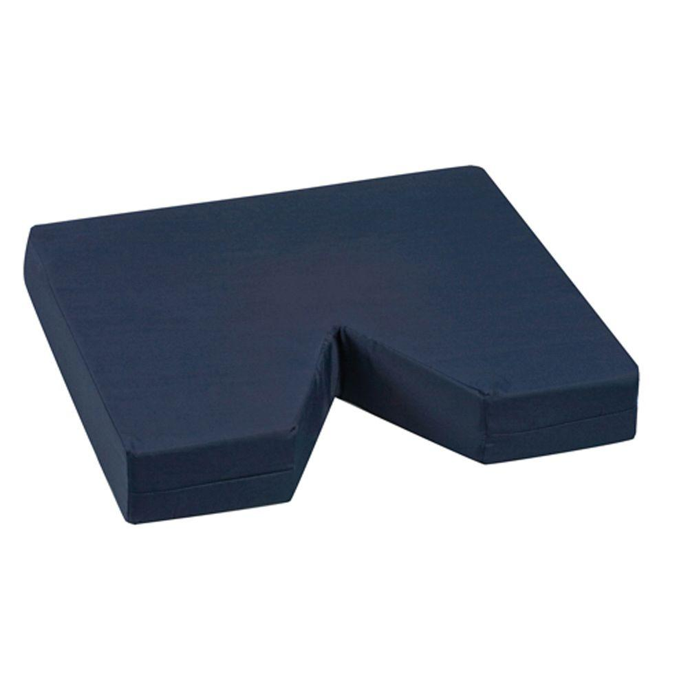 Duro-Med Coccyx Seat Cushion with Navy Poly/Cotton Cover in Navy-513-8015-2400 -