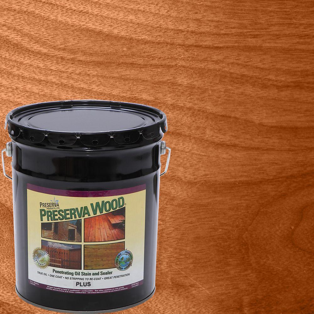 5 gal. Oil-Based Plus Penetrating Stain and Sealer