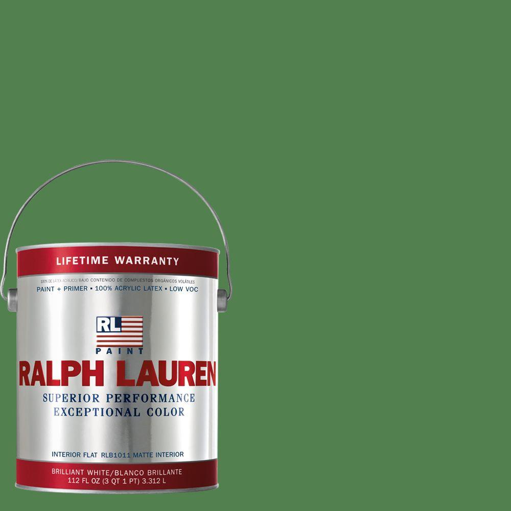 Ralph Lauren 1-gal. West Lawn Flat Interior Paint-RL1587F - The Home