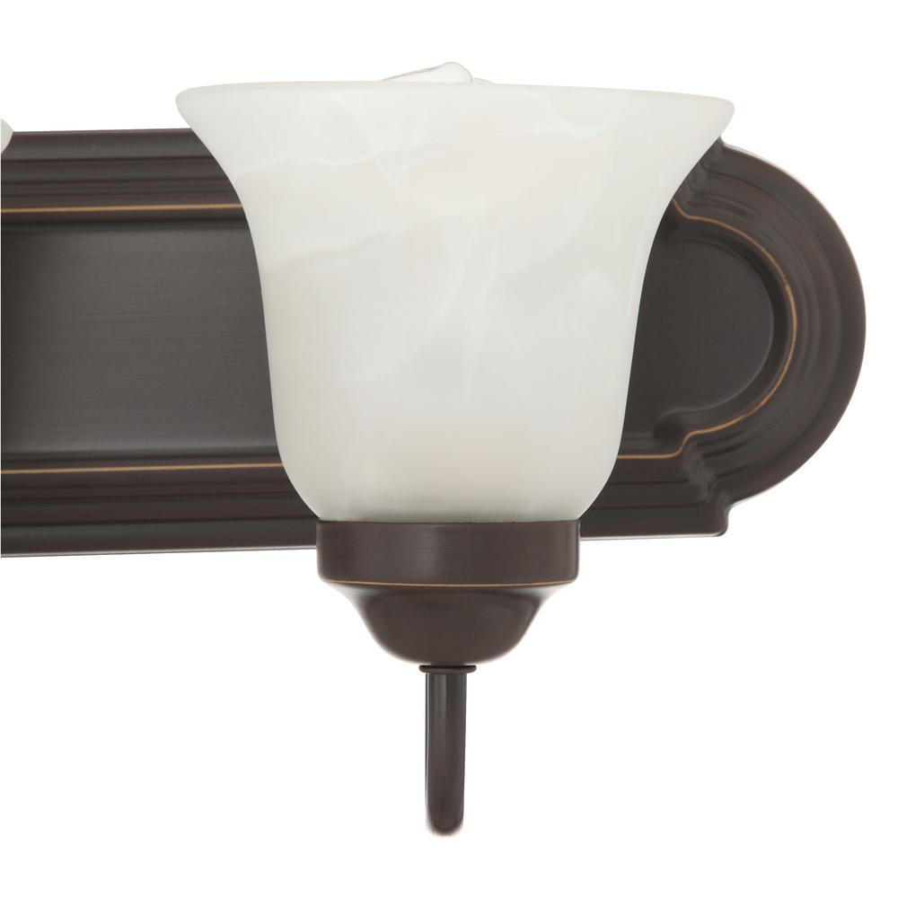 Vanity light designed for mounting facing up or down