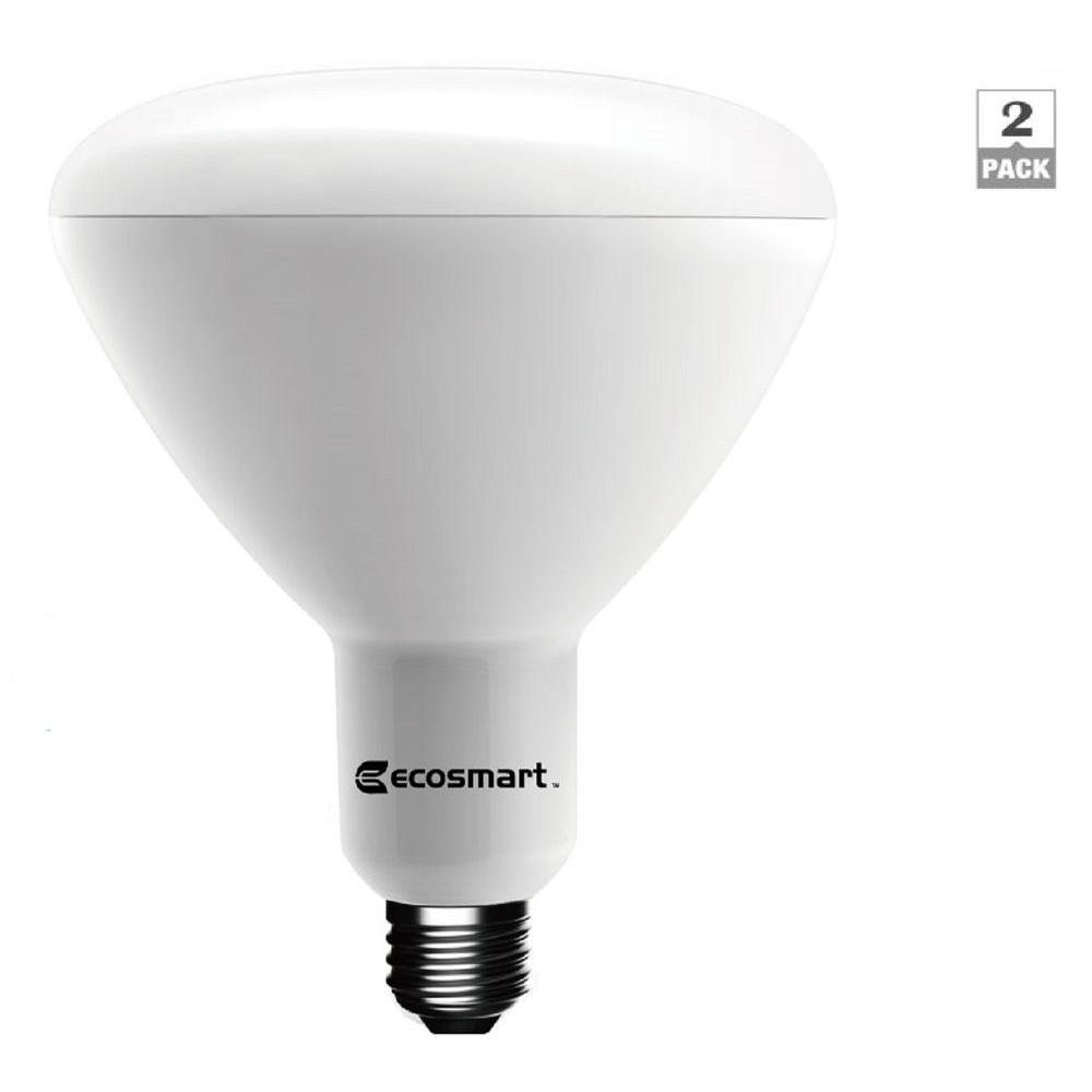 EcoSmart 90W Equivalent Soft White BR40 Dimmable LED Light Bulb